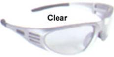 Dewalt #dpg56-1 Ventilator Safety Eyewear Silver Frame w/ Clear Lens