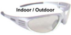 Dewalt #dpg56-9 Ventilator Safety Eyewear Silver Frame w/ Indoor Outdoor Lens