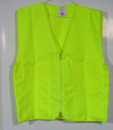 Surveyors Vest Lime Plain