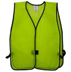 Lime PVC Coated Plain Vests