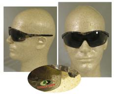 MCR Crews #MO112 Mossy Oak Safety Eyewear w/ Smoke Lens