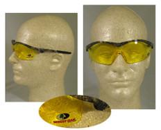 MCR Crews #MO114 Mossy Oak Safety Eyewear w/ Amber Lens