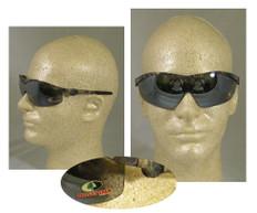 MCR Crews #MO117 Mossy Oak Safety Eyewear w/ Silver Mirror Lens