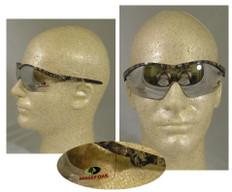 MCR Crews #MO119 Mossy Oak Safety Eyewear w/ Indoor Outdoor Lens