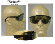 Uvex #S1379 Astro 3000 Safety Eyewear w/ Mirror Lens