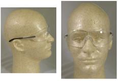 MCR Crews #S2110 Blackjack Safety Eyewear w/ Clear Lens