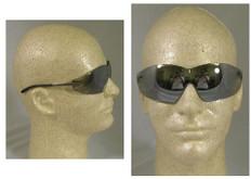 MCR Crews #S2117 Blackjack Safety Eyewear w/ Silver Mirror Lens