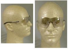 MCR Crews #S2119 Blackjack Safety Eyewear w/ Indoor Outdoor Lens