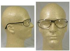 Uvex #S2450 Tomcat Safety Eyewear w/ Clear Lens
