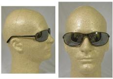 Uvex #S2453 Tomcat Safety Eyewear w/ Silver Mirror Lens