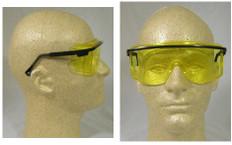 Uvex #S2501 Astro OTG Safety Eyewear w/ Amber Lens