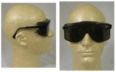Uvex #S2504 Astro OTG Safety Eyewear w/ Smoke Lens