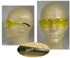 Pyramex #S2530S Ztek Safety Eyewear w/ Amber Lens