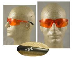 Pyramex #S2540S Ztek Safety Eyewear w/ Orange Lens