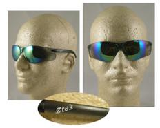 Pyramex #S2590S Ztek Safety Eyewear w/ Gold Mirror Lens