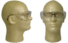 Pyramex #S510SJ Solo Jumbo Safety Eyewear w/ Clear Lens