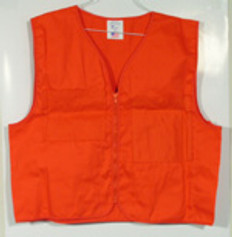 Surveyors Vest Orange Plain