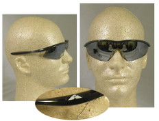 MCR Crews #TM117 Tremor Safety Eyewear w/ Silver Mirror Lens