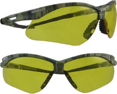 Jackson Nemesis CAMO Frame Safety Glasses with Amber Anti-Fog Lens