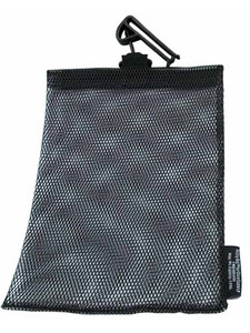 "Open Mesh Utility Guard End 7"" x 10"" Black"