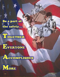 TEAM Safety Poster - 18X24