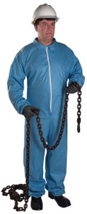 Posiwear FR Flame Resistant Suit w/ Hood, Elastic Wrists and Ankles (25 per case), Med, large, Xlarge