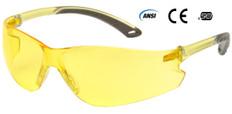 Pyramex ITEK Safety Glasses Amber Lens