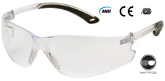 Pyramex ITEK Safety Glasses FOG FREE Clear Lens