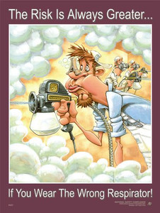 Respirator Safety Poster - 18x24