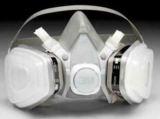 3M 5000 Half Face Respirator Kits Medium Size