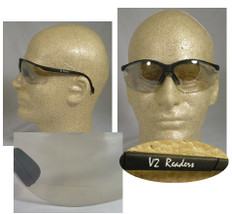 Pyramex #SB1880R25 Venture II Readers Safety Eyewear w/ 2.5 Indoor Outdoor Lens