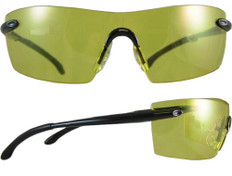 Smith and Wesson #3023027 Caliber Safety Eyewear w/ Amber Lens