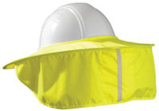 Occunomix #899-HVY Safety Helmet Stow Away Shades Yellow