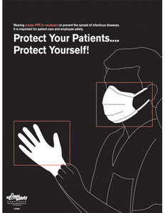 Wear Your PPE - Healthcare (18 by 24 inch)