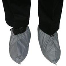 Dupont Tyvek Fiber Skid Resistant FC Shoe Covers (Gray) (100 ct)