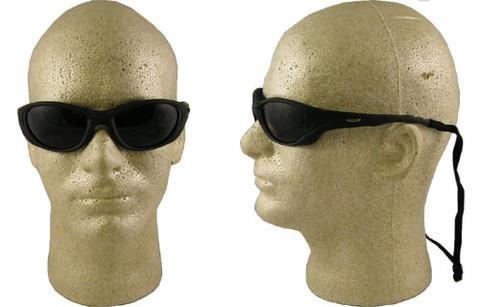 AO Safety #11654 Fuel II Safety Eyewear Black Frame w/ Smoke Lens