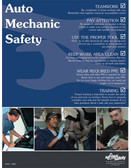 Auto Mechanic Safety Poster (18 by 24 inch)