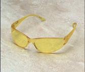Erb Boas-Wraparounds Safety Glasses Amber Lens