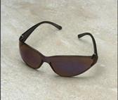 Erb Boas-Wraparounds Safety Glasses Blue Mirror Lens