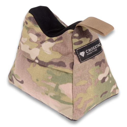 Ultralight rear shooting bag in MultiCam