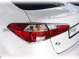 2014+ Forte-K3 Sedan Chrome Tail Light Molding Kit