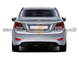 2011-2016 Accent Performance Rear Diffuser