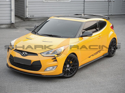 2012 2018 Veloster Spec 1 Body Kit Shark Racing