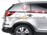 2011-2014 Sportage Chrome C-Pillar and Window Molding Set