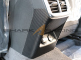 2021+ K5 Carbon Fiber Style Console Rear Protector