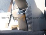 2020+ Seltos Carbon Fiber Style Console Rear Protector
