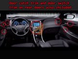 2011-2013 Sonata Metallic Interior Kit