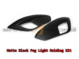 2010-2013 Tucson Matte Black Foglight/Reflector Molding Kit