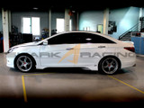 2011-2013 Sonata Fiberglass Side Skirts