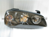 04-06 Elantra Black Bezel Clear Corner Headlights
